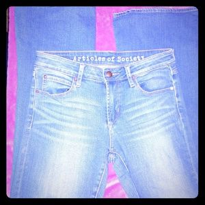 Articles of Society jeans 27